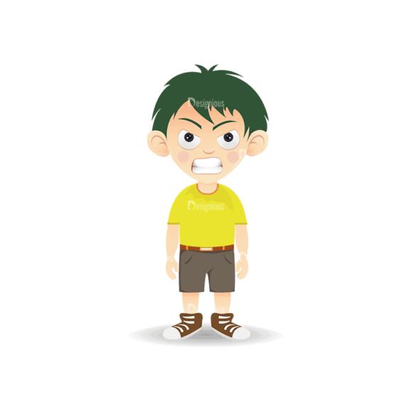 Manga Boy Boy Svg & Png Clipart manga boy vector set vector boy 15