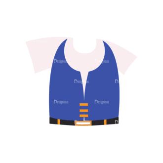 Manga Boy Clothes Svg & Png Clipart Clip Art - SVG & PNG vector
