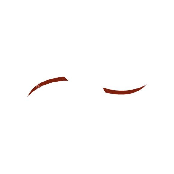 Manga Boy Eyebrow Svg & Png Clipart manga boy vector set vector eyebrow 37