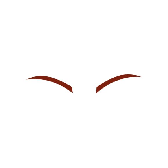 Manga Boy Eyebrow Svg & Png Clipart manga boy vector set vector eyebrow 40