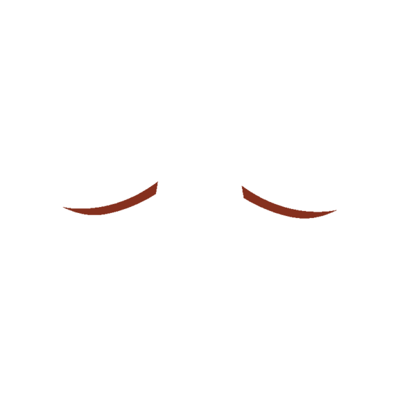 Manga Boy Eyebrow Svg & Png Clipart Clip Art - SVG & PNG vector