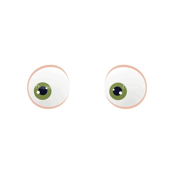 Manga Boy Eyes Svg & Png Clipart manga boy vector set vector eyes 47