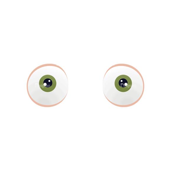 Manga Boy Eyes Svg & Png Clipart manga boy vector set vector eyes 48