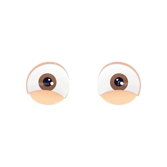 Manga Boy Eyes Svg & Png Clipart manga boy vector set vector eyes 49