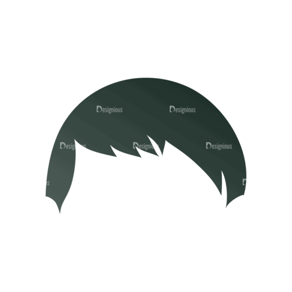 Manga Boy Hair Svg & Png Clipart manga boy vector set vector hair 24