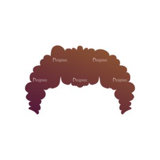 Manga Boy Hair Svg & Png Clipart Clip Art - SVG & PNG vector