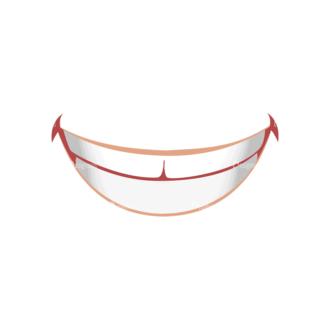 Manga Boy Mouth Svg & Png Clipart Clip Art - SVG & PNG vector