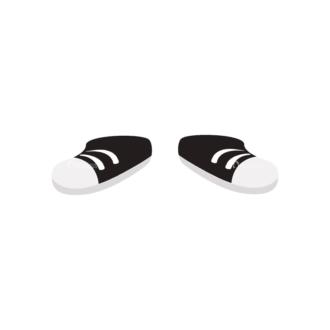 Manga Boy Shoes Svg & Png Clipart Clip Art - SVG & PNG vector