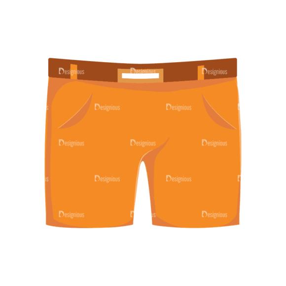 Manga Boy Shorts Svg & Png Clipart manga boy vector set vector shorts