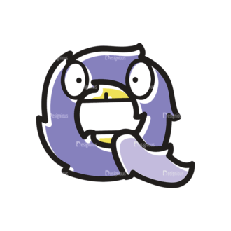 Monster Alphabet Q Svg & Png Clipart Clip Art - SVG & PNG vector