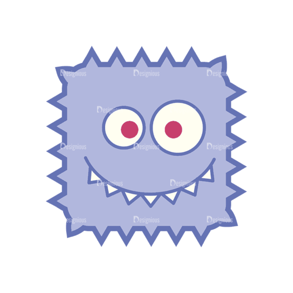 Monsters Monsters Svg & Png Clipart monsters vector set 2 vector monsters 04