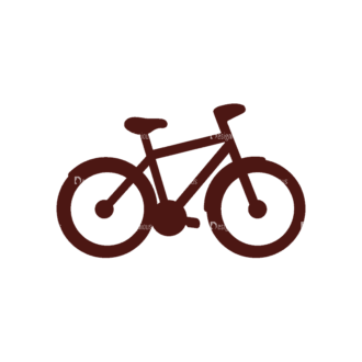 Sport Elements Bicycle Svg & Png Clipart Clip Art - SVG & PNG vector