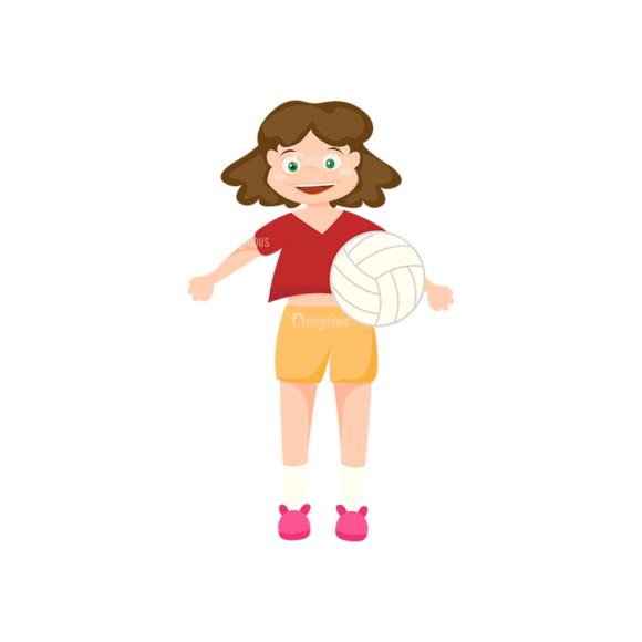 Sports Cartoon Kids Sports Kids Svg & Png Clipart sports cartoon kids vector set 1 vector sports kids 01