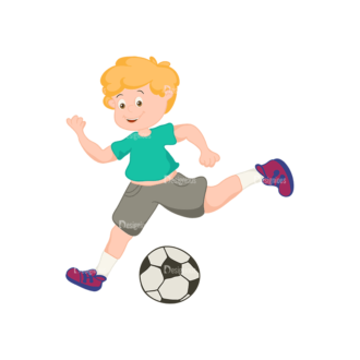 Sports Cartoon Kids Sports Kids Svg & Png Clipart Clip Art - SVG & PNG vector