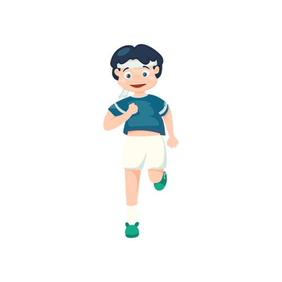 Sports Cartoon Kids Sports Kids Svg & Png Clipart sports cartoon kids vector set 1 vector sports kids 03