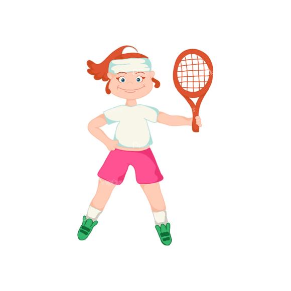 Sports Cartoon Kids Sports Kids Svg & Png Clipart Clip Art - SVG & PNG vector