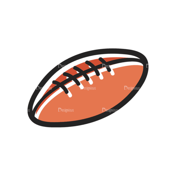 Sports Doodle Football Svg & Png Clipart sports doodle vector set 3 vector football