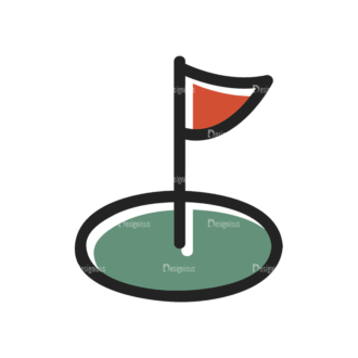 Sports Doodle Golf Svg & Png Clipart Clip Art - SVG & PNG vector