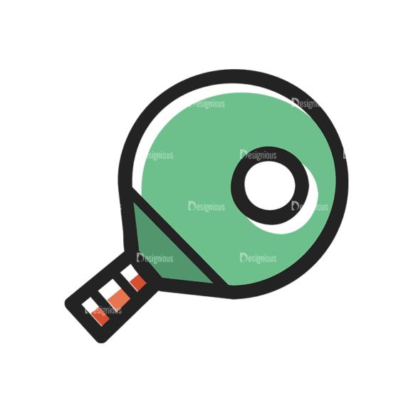 Sports Doodle Table Tennis Svg & Png Clipart Clip Art - SVG & PNG vector