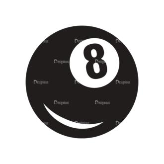 Sports Logos Billiard Svg & Png Clipart Clip Art - SVG & PNG vector