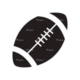 Sports Logos Football Svg & Png Clipart Clip Art - SVG & PNG vector