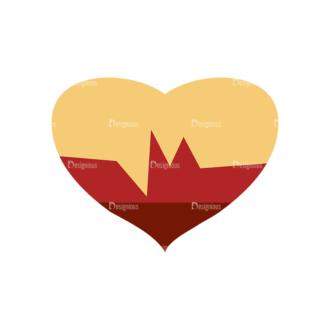 Sports Heart Svg & Png Clipart Clip Art - SVG & PNG vector