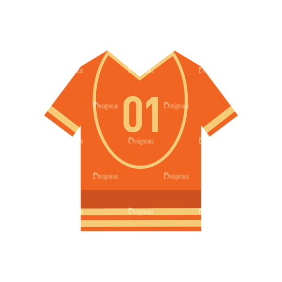 Sports Jersey Svg & Png Clipart Clip Art - SVG & PNG vector
