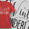 Hounted Home-T-Shirt-Typography-2238 christmas typography 16 preview