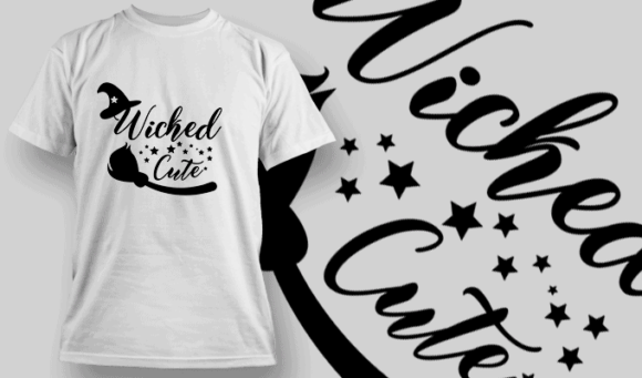 Wicked Cute-T-Shirt-Typography-2236 halloween quotes 07 preview
