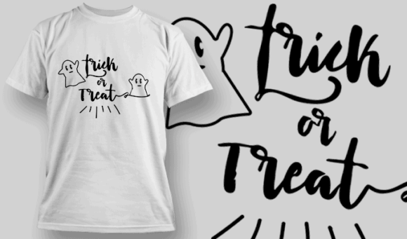 Trick Or Treat-T-Shirt-Typography-2259 halloween quotes 30 preview