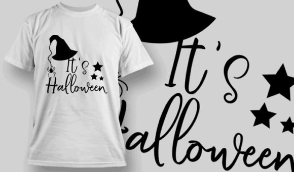 Its Halloween-T-Shirt-Typography-2283 halloween quotes 54 preview