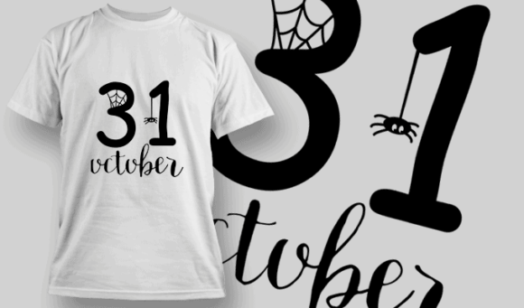 October 31St-T-Shirt-Typography-2325 halloween quotes 96 preview