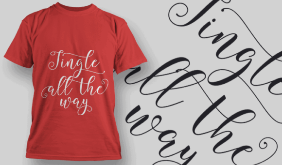 Gingle All The Way-T-Shirt-Typography-2201 xmas quotes pack 02 preview