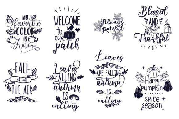 100x Quotes for Autumn AUTUMN bundle 10