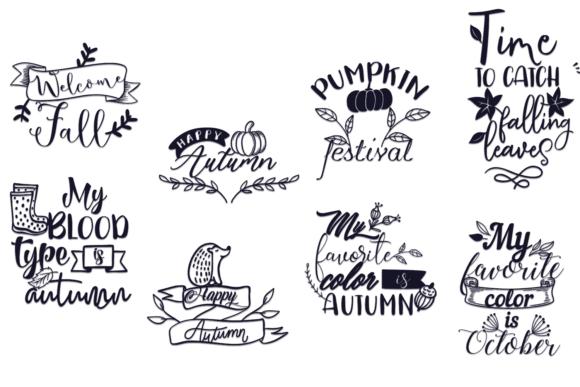 100x Quotes for Autumn AUTUMN bundle 3