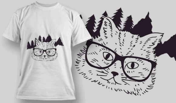 Hipster Cat hipster cat preview