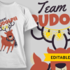 Snowman and Tree team rudolf preview 1