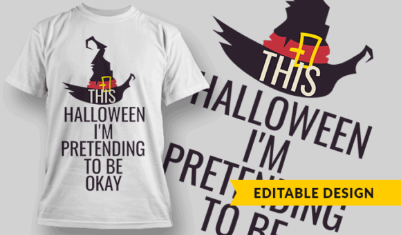 This Halloween I'm Pretending To Be Okay this halloween pretend to be okay preview