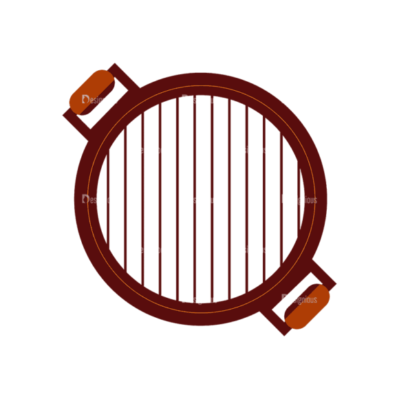 Barbeque Grill 07 Svg & Png Clipart Barbeque Grill 07 preview