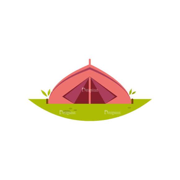 Hiking Camping Tent Svg & Png Clipart Hiking Camping Tent preview