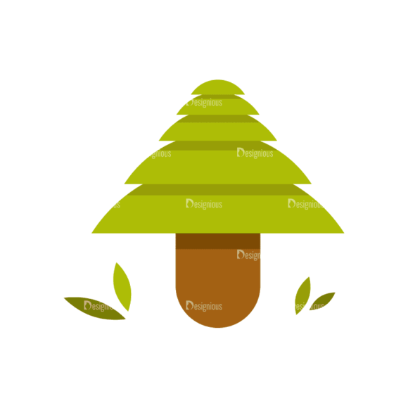 Hiking Camping Tree 09 Svg & Png Clipart Hiking Camping Tree 09 preview