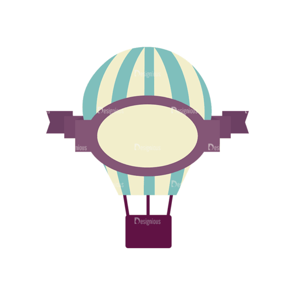 Travel Badges Air Baloon Svg & Png Clipart Travel Badges Air Baloon preview