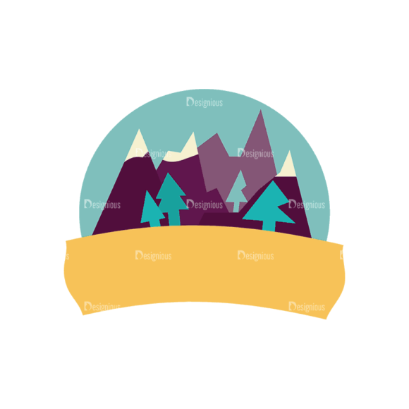 Travel Badges Mountain Svg & Png Clipart Travel Badges Mountain preview