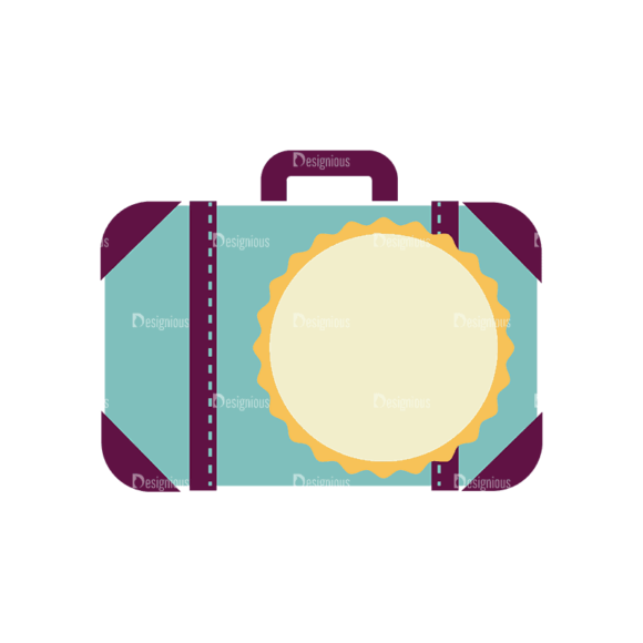 Travel Badges Suitcase Svg & Png Clipart Travel Badges Suitcase preview