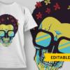 Aaaaaahh! afro skull preview