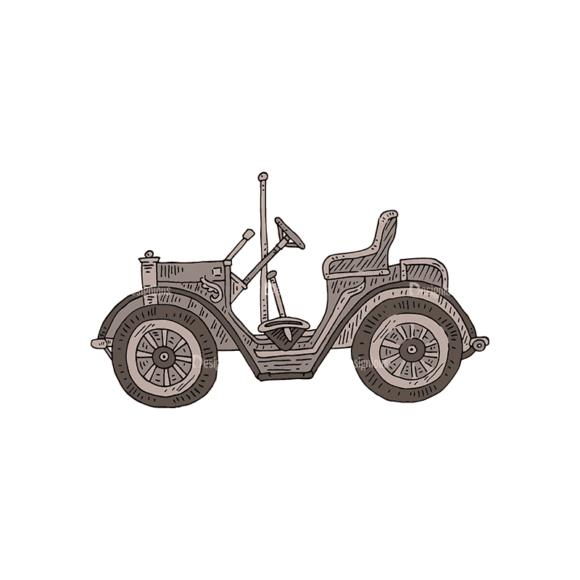 Engraved Transportation Set 1 Car Svg & Png Clipart engraved transportation vector set 1 vector car