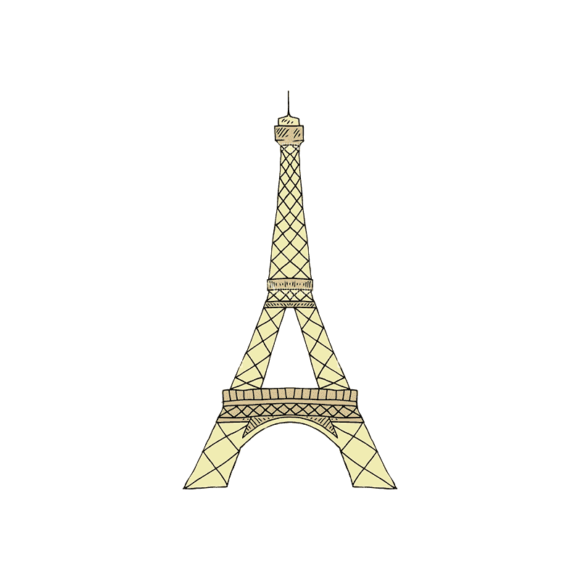 Engraved Travel Set 1 Eiffel Tower Svg & Png Clipart engraved travel vector set 1 vector eiffel tower