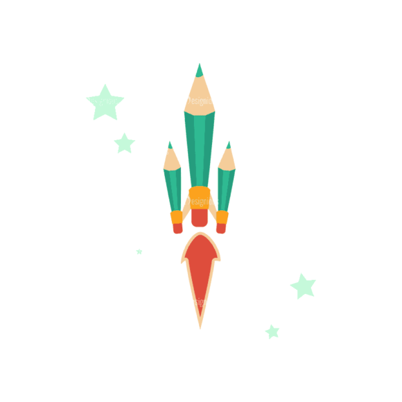 Flying Set 3 Spaceship 03 Svg & Png Clipart flying vector set 3 vector spaceship 03