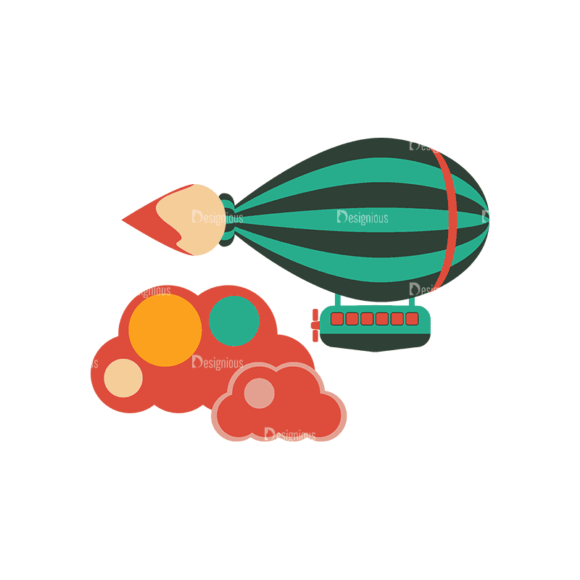 Flying Set 3 Spaceship 04 Svg & Png Clipart flying vector set 3 vector spaceship 04