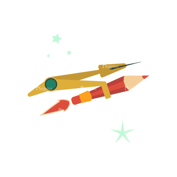 Flying Set 3 Spaceship 08 Svg & Png Clipart flying vector set 3 vector spaceship 08